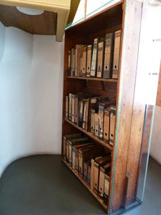 It took me 42 years, but I finally went behind the bookcase.....