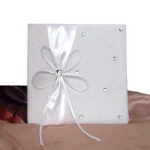 Ivory #Wedding #Marriage Certificate Holder Cover with Bow!