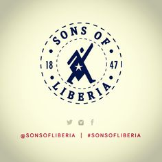 Sons of Liberia logo, the break down.   In the middle is a depiction of a liberty child (every Liberian) in a walking motion with a victory hand up, carrying or being the star on our country's flag. Follow on Facebook, twitter, tumblr, and Instagram  @sonsofliberia  #sonsofliberia #logo #brand #Liberia #thejourneyisreal