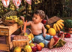 13 trendy first birthday photoshoot outfit boy Baby Boy 1st Birthday Party, 1st Birthday Photoshoot, Happy Birthday Fun, Fall Baby Photos, Baby Fruit, Cute Baby Wallpaper, Baby Monthly Milestones, Baby Boy Photography, Baby Month By Month