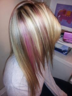 I love this!  Maybe being a blonde is in my future???