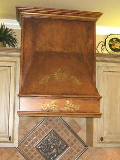 Decorative Artisan FAUX ANTIQUE COPPER AND METALLIC GOLD VENT