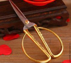 Купить Винтажные ножницы Дракон - винтажный стиль, винтаж, портновские ножницы, ножницы для рукоделия