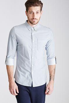 Une très belle chemise rayée pour homme !! #chemise #shirt #fashion #mode #homme #men  http://www.appart-33.com/produit/chemise-rayee-slim/