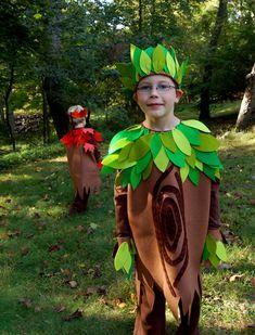 Trajes de arboles para niños - Imagui