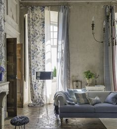 Interior Design Classic, Vintage   Ophelia Fabric by Designers Guild   Jane Clayton                                                                                                                                                                                 More