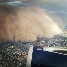Haboob (sandstorm), Phoenix AZ, July 21, 2012