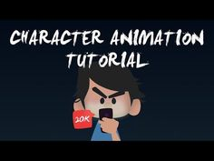 After Effects - How to Animate a Character without any Plugins Tutorial