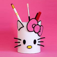 get some yourself some pawtastic adorable cat apparel! Tin Can Crafts, Diy Home Crafts, Easy Diy Crafts, Creative Crafts, Toilet Paper Roll Crafts, Cardboard Crafts, Foam Crafts, Paper Crafts, Plastic Bottle Crafts