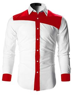 Mens Designer Slim Fit Color Block Shirt with Long Sleeve African Clothing For Men, African Shirts, African Men Fashion, Mens Fashion, High Fashion, Preppy Fall Outfits, Plaid Outfits, Sweater Outfits, Slim Fit Dress Shirts
