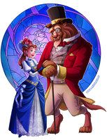 Victorian Batb by HollyBell