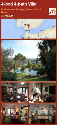 4-bed 4-bath Villa in El Madronal, Malaga (Costa Del Sol), Spain ►€1,200,000 #PropertyForSaleInSpain