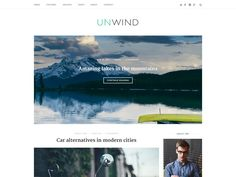 Unwind is a modern theme for creators. A stunning integrated posts slider, clean lines and crisp typography make it the perfect canvas for bloggers. Complete WooCommerce integration usually only found in premium themes makes Unwind ideal for selling. We know standing out from the crowd is important. Unwind now offers four header layouts and five blog layouts, making it easy to create a unique look and feel to suit your brand. Wordpress Premium, Free Magazines, Blog Layout, Themes Free, Modern City, Wordpress Theme, Wordpress Org, Best Sites, Business Website