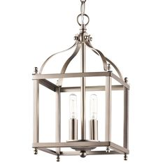 14.75 h x 8 w-Mini Lantern Pendant Light -Shades of Light. For over sink and/or foyer