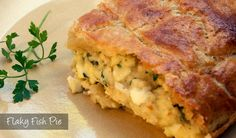 The Delia Project (#6 and #7) from Eine Kugel Vanilla: Flaky Fish Pie and Quick Flaky Pastry