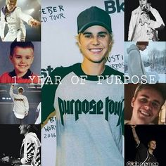 1 year, omg I'm proud of you Justin