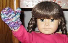 American Girl doll Mittens pattern