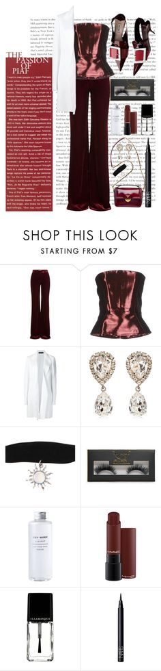 """""""high (heels)"""" by johanna-dn on Polyvore featuring Emilio Pucci, Dsquared2, Prada, Calvin Klein Collection, Dolce&Gabbana, Hot Topic, Boohoo, Illamasqua and NARS Cosmetics"""