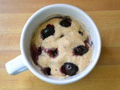 blueberry mug muffin omg shocking and good