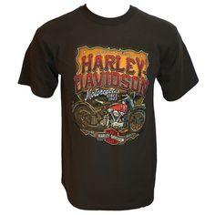 Harley-Davidson Historic Mens' Brown Dealer Tee