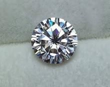 Stunning 1.00 Carat Moissanite Diamond VVS GH Color Premium Quality Beautiful Diamond Rings, Beautiful Engagement Rings, Baguette Diamond Rings, Moissanite Diamonds, Pink Stone, 1 Carat, White Gold Rings, Stone Rings, Jewelry Crafts
