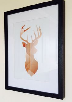 Copper Stags Head