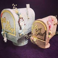 When special announcement requires special boxes, order our cute mail boxes filled with delicious chocolates