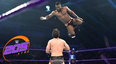 Alicia Fox appears to be the FURTHEST thing from Cedric Alexander's mind as impresses against Noam Dar on WWE 205 Live, streaming LIVE on WWE Network!