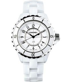 Chanel white J12.