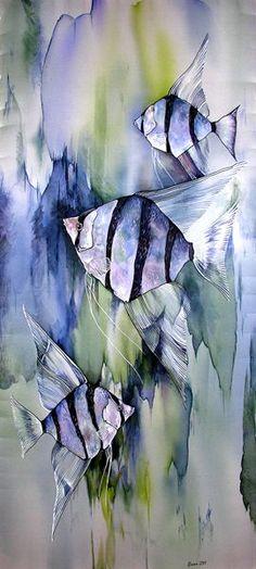 Chinese Angelfish Painting: 10 тыс изображений найдено в Яндекс.Картинках