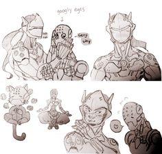 genji and zen doodles!