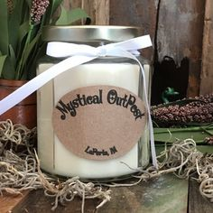 "A classic with a new twist. Home sweet home blended with sugar cookies.  10 oz Soy Candle Information  Jar Opening Diameter: 2 1/4""  Jar Diameter: 2 3/4""  Jar Height: 3 3/4""  Lid Diameter: 2 1/2""  Color: White    Burn time for Candle: 80 to 120 hours  I use 100% Natural Soybean 119 Wax and ECO Wicks. The wicks are cotton braided with thin paper threads that gives the wick a rigid structure without the need for a core. No zinc in the wicks I use, all nat..."