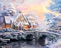 """Holiday at Winter`s Glen"", ."