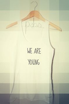 We Are Young Hipster Tank Top women teen girls by pebbyforevee, $28.00 FREE SHIPPING