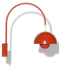 Verner Panton had many other great creations including the Flowerpot Lamp featured here, manufactured by Louis Poulsen of Denmark.