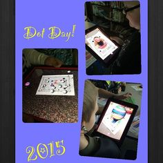 #EOMuncie Ss using #augmentedreality to bring their dots to life! #dotday