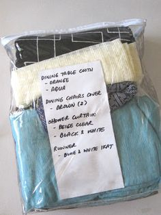 Reuse plastic zipper bags from purchased curtains or bedding sheets to store Christmas decorations. Easy to find precious ornaments. Simple storage u2026 & Reuse plastic zipper bags from purchased curtains or bedding sheets ...