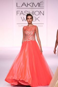 Jyotsna Tiwari. LFW S/S 14'. Indian Couture.