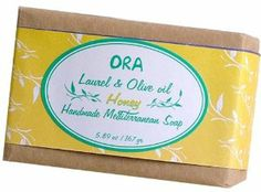 Aleppo Soap/ Ghar Soap Natural Laurel and Olive Oil Soap with Honey 5.89oz/ 167g. by ORA. $5.99. Also known Aleppo Soap. Natural. No artificial dyes and fragrance. ORA soap brings you a unique and authentic experience that dates back to thousands of years. Our blends combine the oldest handcrafted creations with the most organic pure and exhuberant ingredients from the Mediterranean region. Endulge in the benefits of our therapeutic and energetic ORA. Honey has antimicrobial qua...