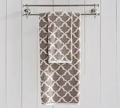 Marlo Jacquard Organic 600-gram Weight Bath Towels