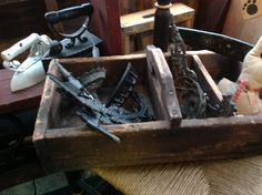 Antique tool carrier