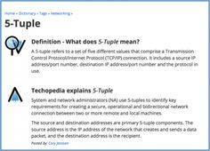 A must read #blog posted by #Cisco describing features of 5-Tuple.