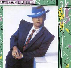 Elton John Album Covers | Elton John - Jump Up! (1982) CD Front cover