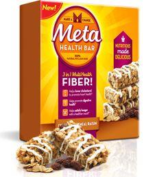 FREE Metamucil Cinnamon Oatmeal Raisin Meta Health Bar (NEW OFFER) on http://hunt4freebies.com