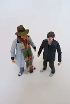 Doctor Who Action Figures by spike from nj, via Flickr
