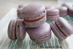 Base pour macaron avec une meringue française
