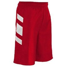 Champro Performance Basketball Shorts SCARLET/WHITE A2XL- 9 INSEAM