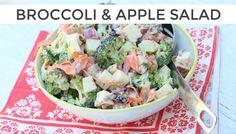 Broccoli + Apple Salad | Clean & Delicious
