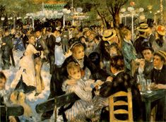 Moulin de la Galette, Renoir.