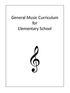 ELEMENTARY MUSIC CURRICULUM - TeachersPayTeachers.com